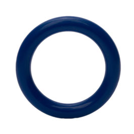 Durable speelgoedring dicht blauw 40 mm
