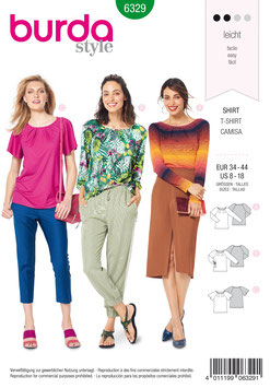 Burda patroon nr: 6329