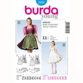 Burda patroon nr: 7057