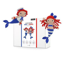 Zabbez mermaids Mik & Mira haakpakket