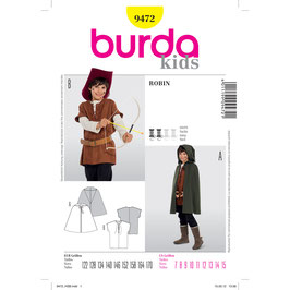 Burda patroon nr: 9472