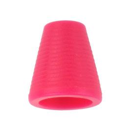 Koorddop kegelvorm donker roze