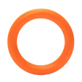 Durable speelgoedring dicht oranje 40 mm