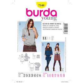 Burda patroon nr: 7148