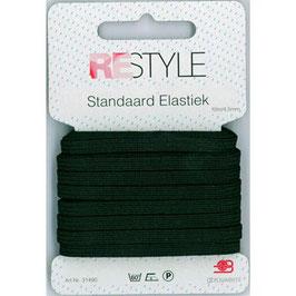 Zwart standaard elastiek 4,5 mm