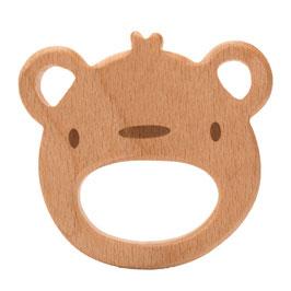 Houten beer bijtring