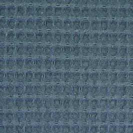 Wafelstof donker blauw Col 223