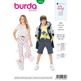 Burda patroon nr: 9324