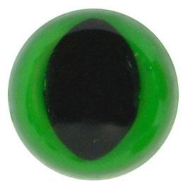Veiligheids katten ogen 12 mm groen