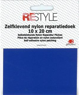 Zelfkevend nylon reparatiedoek blauw