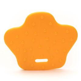 Oranje dierenpoot bijtring van Durable.