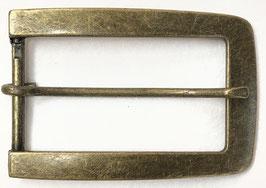 Metalen gesp rechthoek brons nr:933