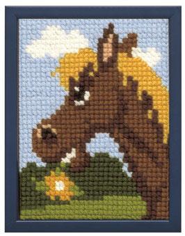 Paard kinder borduurpakket