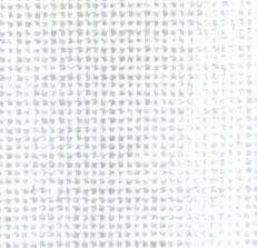 Kaaslinnen 14 draads per cm wit 140cm breed