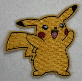 Blije Pikachu Pokémon applicatie