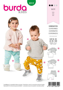 Burda patroon nr: 9312