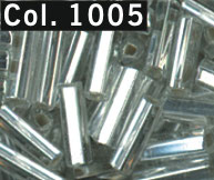 Bugle beads 7mm staafjes