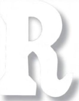 Flockletters en cijfers wit 3,5 cm