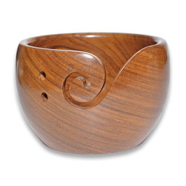 Durable houten yarn bowl hoog model