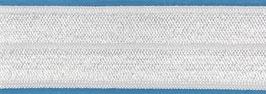 Biaisband elastisch wit