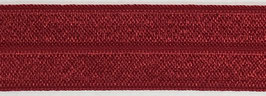 Biaisband elastisch bordeaux rood