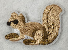 Licht bruine eekhoorn applicatie