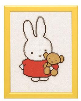 Nijntje met beer borduurpakket