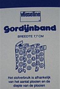 Gordijnband 7,7cm breed naaibaar