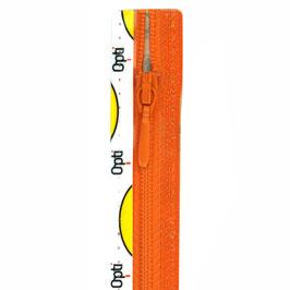 Oranje rits met druppel trekker niet deelbaar
