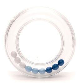 Durable rammelaar met blauwe balletjes 80 mm