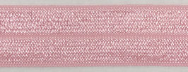 Biaisband elastisch roze