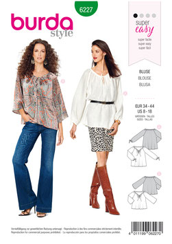 Burda patroon nr: 6227