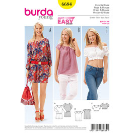 Burda patroon nr: 6684