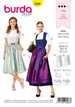 Burda patroon nr: 6268