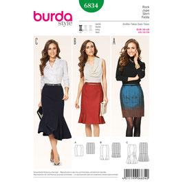 Burda patroon nr: 6834