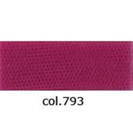 Tule donker roze 280 cm breed