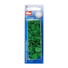 Ronde Color Snaps gras groen