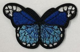 Grote vlinder applicatie kobalt blauw