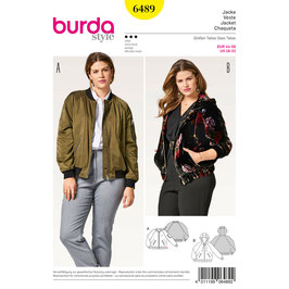 Burda patroon nr: 6489