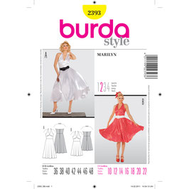 Burda patroon nr: 2393