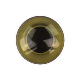 Ogen groen 15 mm aannaaibaar