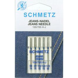Schmetz Jeans 130/705 H-J mix pak