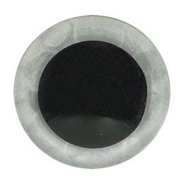 Veiligheidsogen 18 mm transparant