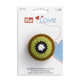 Prym kiwi speldenkussen / fixeergewicht 6CM