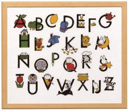 Nijntje alfabet borduurpakket