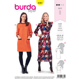Burda patroon nr: 6381