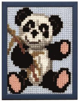 Panda kinder borduurpakket
