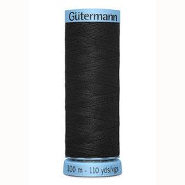 Gütermann zijde garen 100 meter kleur nr: 000