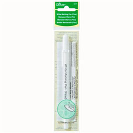 Clover white marking pen fine