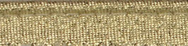 Licht goud glitter paspelband